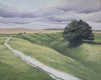 Avebury 2 (2017) 24x30 oil on canvas $550