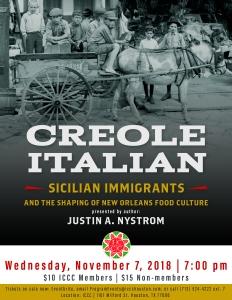 creole italian flyer